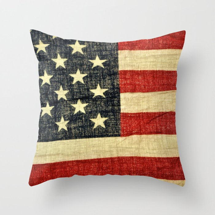 History Throw Pillow by Chris Klemens Society6