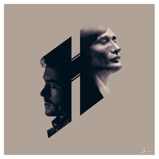 H for Hannibal Art Print