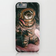 iPhone & iPod Case featuring Deep Sea Diver by Benpannell