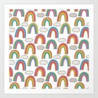 Pattern Project #45 / Ra… Art Print