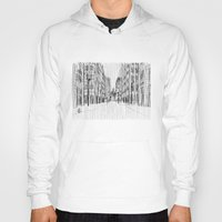 Fog And Rain: Cityscape … Hoody
