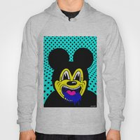 MOUSE SICK.  (On Turqois… Hoody