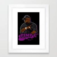 Chad 'Pimp C' Butler Framed Art Print