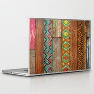 Indian Wood Laptop & iPad Skin