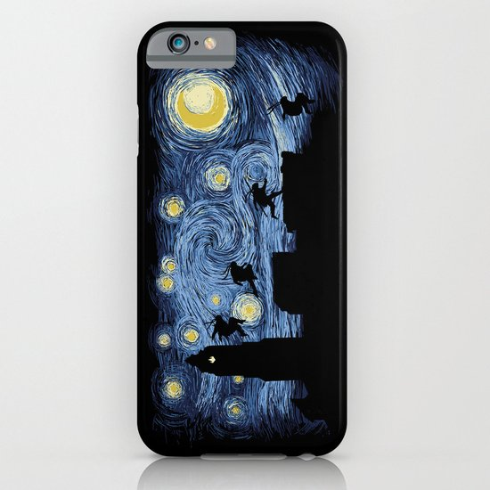Starry Fight iPhone & iPod Case