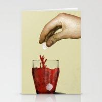 tea Stationery Cards featuring Tea by gazonula