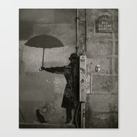 Rue du chat qui pêche  Canvas Print