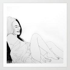 Happiness(illustration) Art Print