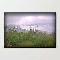 Astoria Fog Canvas Print