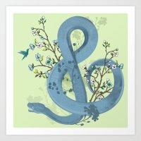 Music Of The Serpent Art Print