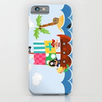 iPhone & iPod Case featuring PIRATE SHIP (AQUATIC VEHICLES) by Alapapaju