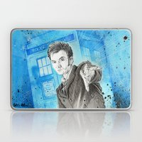Doctor Who: The 10th Doc… Laptop & iPad Skin
