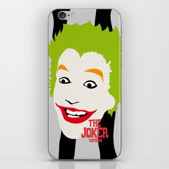 JOKER BLACK&GREY iPhone & iPod Skin