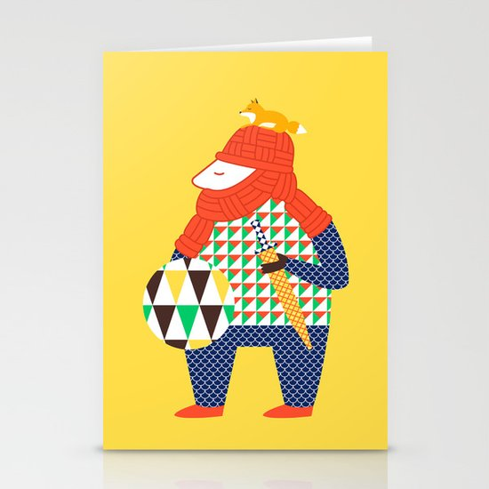 Warrior's Pet Stationery Card