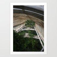 Canopy Green Art Print