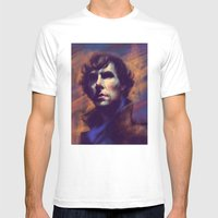 Consulting Detective Mens Fitted Tee White SMALL