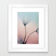 sprinkles of love Framed Art Print