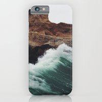 wave iPhone & iPod Cases featuring Montaña Wave by Kevin Russ