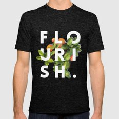 Flourish #society6 #buya… Mens Fitted Tee Tri-Black SMALL