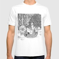 Fox Piano Mens Fitted Tee White SMALL