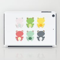 Frogs iPad Case