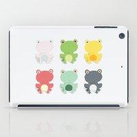 Frogs iPad Case