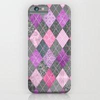Magic Argyle Quilt iPhone 6 Slim Case