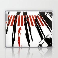 La malette rouge Laptop & iPad Skin