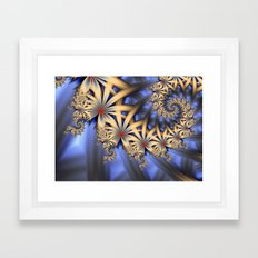 A Touch Of Red Framed Art Print