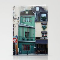 The Streets of Paris, France. Stationery Cards