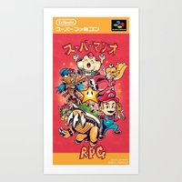 Tribute: Super Mario RPG… Art Print