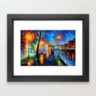 The Doctor Starry The Ni… Framed Art Print