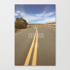 it's your way Canvas Print