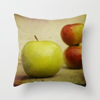 Apple Pies Throw Pillow