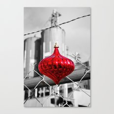 Industrial Yuletide Canvas Print
