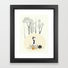 Our Elf of the Harvest Framed Art Print