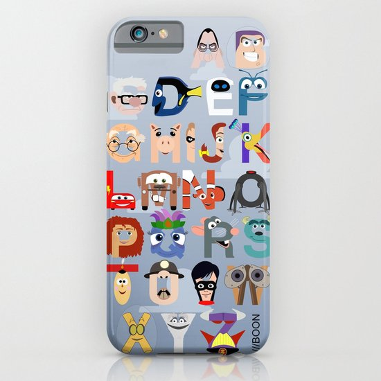 P is for Pixar (Pixar Alphabet) iPhone & iPod Case