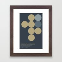 Sputnik Sweetheart Framed Art Print