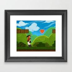Co-Op Gaming Framed Art Print