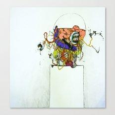 Contents Under Pressure Canvas Print