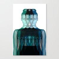 LADY #1 Canvas Print