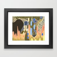 Carl Sagan's widow Framed Art Print