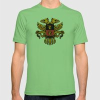 Crest De Chocobo Mens Fitted Tee Grass SMALL