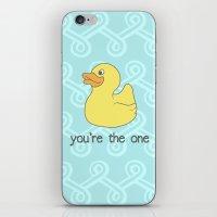 Rubber Duckie iPhone & iPod Skin