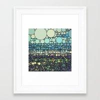 Beach Rounds Framed Art Print