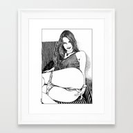 Apollonia Saintclair 402… Framed Art Print