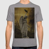 Golden Eclipse Mens Fitted Tee Athletic Grey SMALL