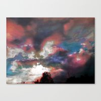Sky View As Seen On TV Canvas Print