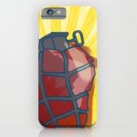 My Heart goes boom iPhone 6 Slim Case
