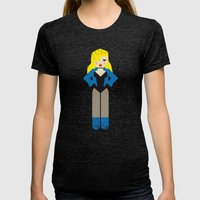 Black Canary Womens Fitted Tee Tri-Black SMALL